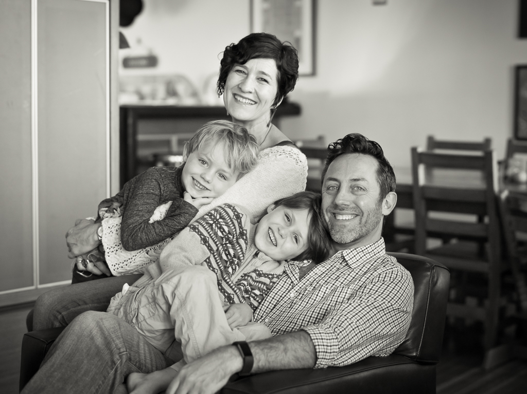 Fine art Black and white traditional photographs of families and children by Joshua Ets-Hokin