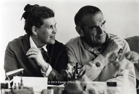 Ray & Charles Eames. © Eames Office LLC ( eamesoffice.com)