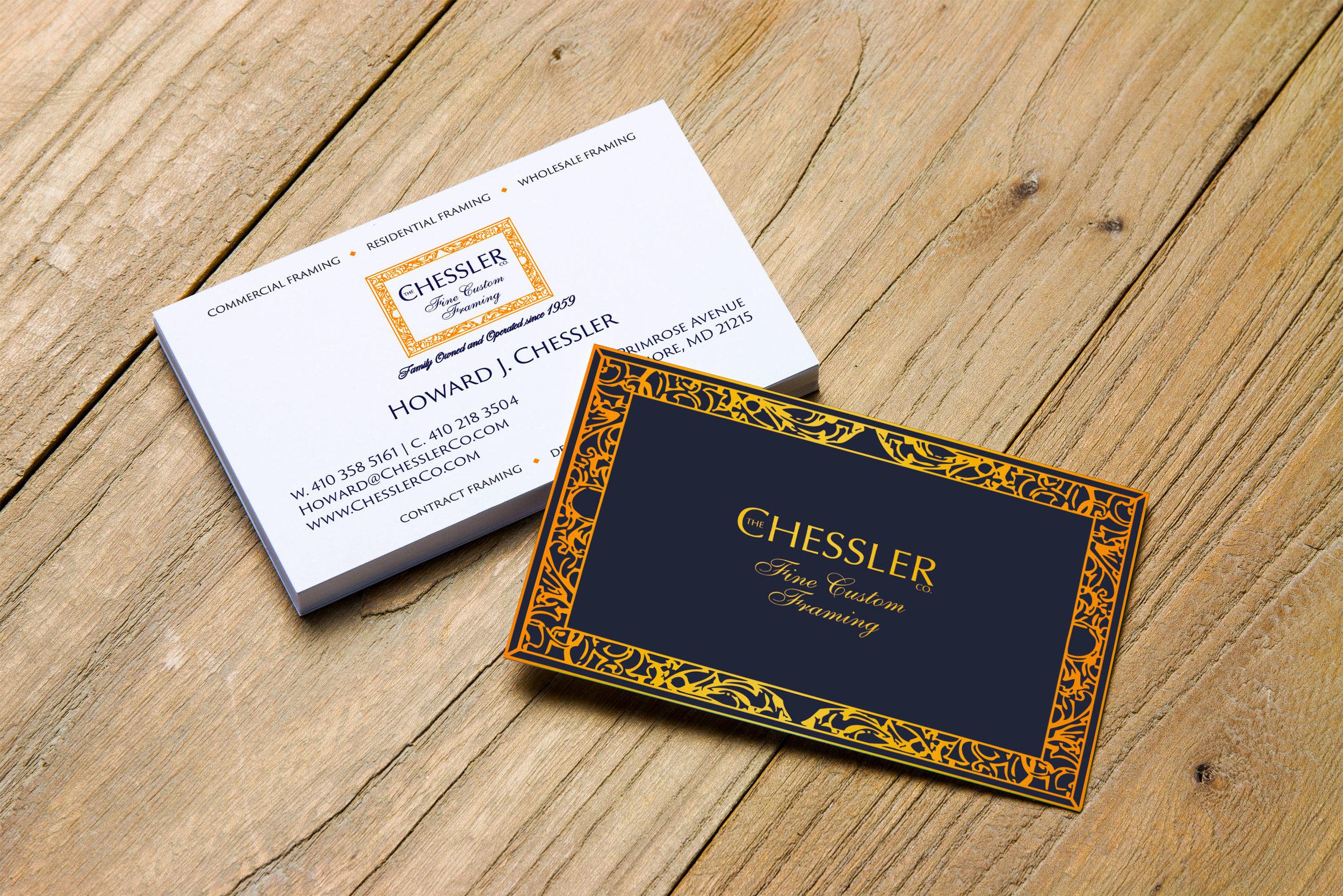 Chessler Co. - Business Card Design