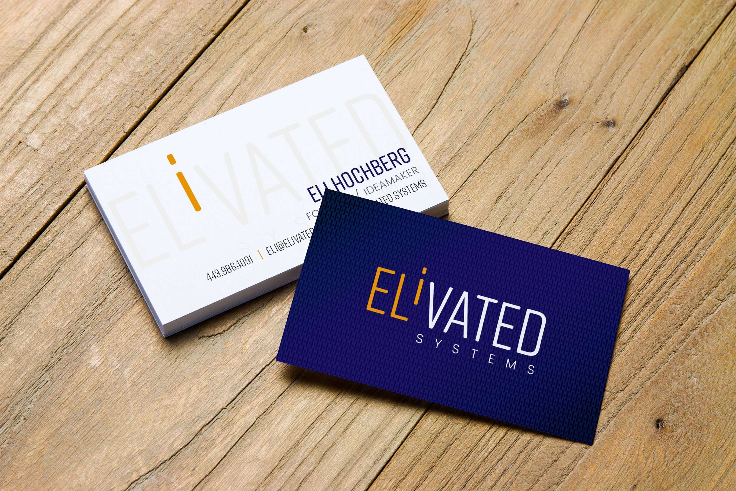 ELiVATED SYSTEMS - Logo & Business Card Design