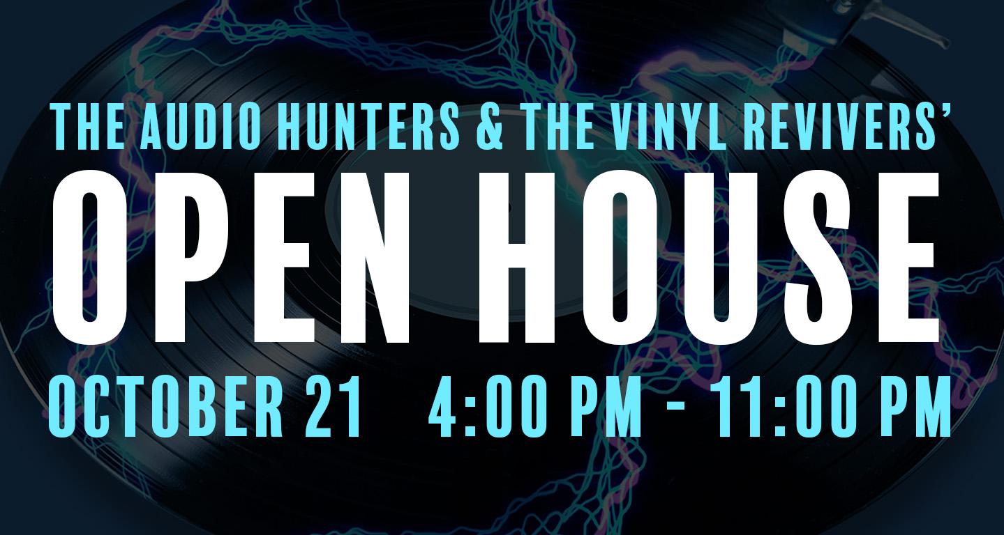 The Vinyl Revivers - Event Branding
