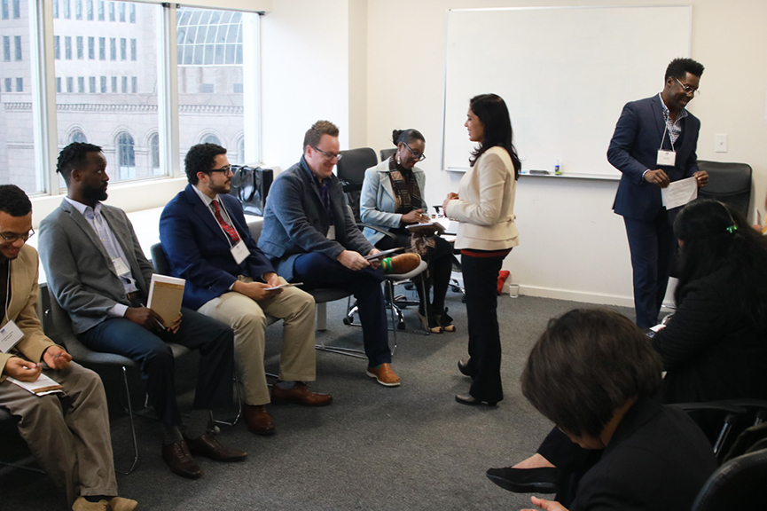 """ Diversity isn't just a check box you can tick off but something you intentionally live everyday"" -Mithra Kosur Venuraju, Senior manager Software Engineering, Capital One"