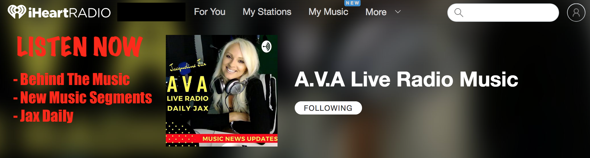 https://www.iheart.com/podcast/269-AVA-Live-Radio-Musi-29336730/