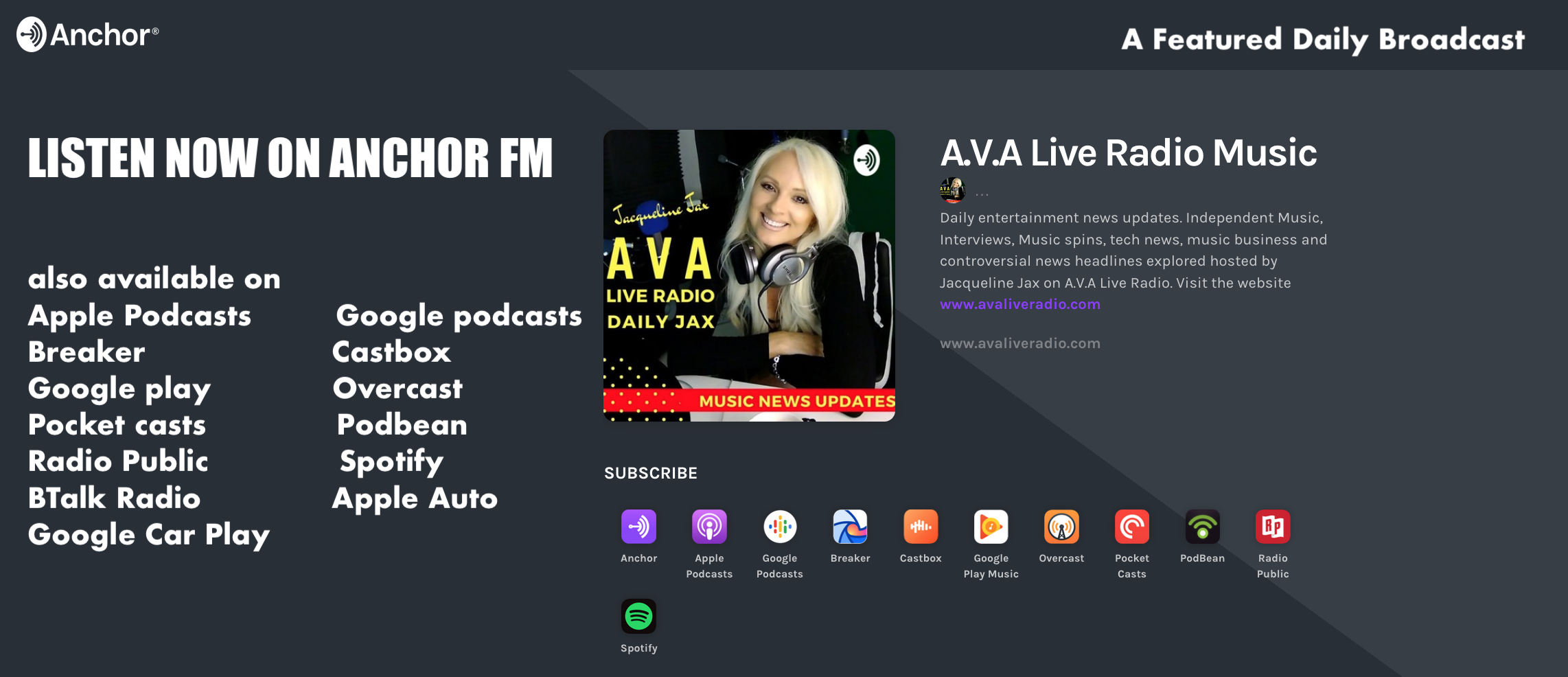 https://anchor.fm/ava-live-radio