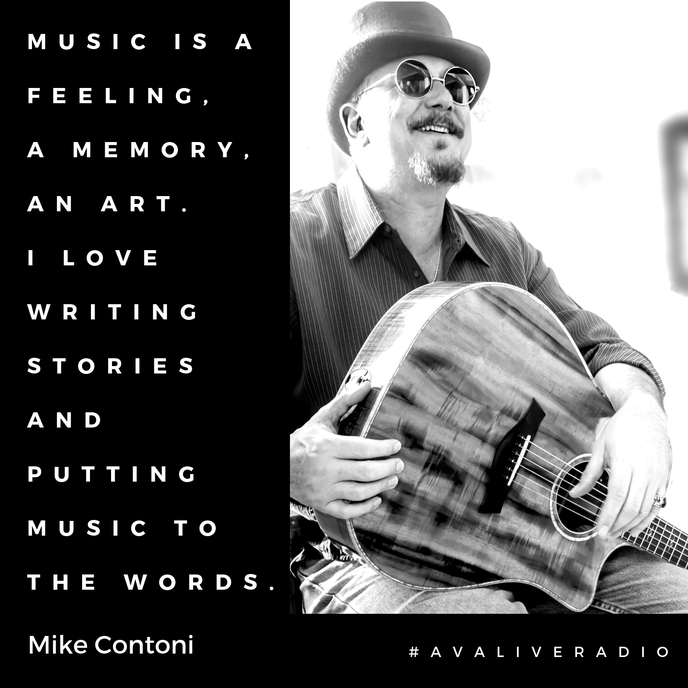 Mike Contoni avaliveradio music quote.png