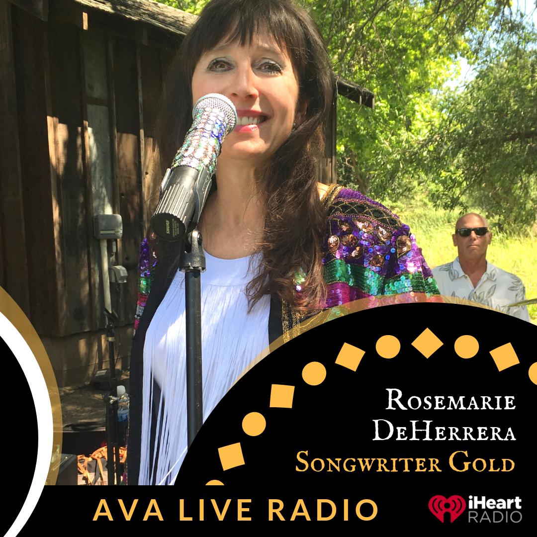 Rosemarie DeHerrera AVA LIVE RADIO NEW MUSIC MONDAY.png