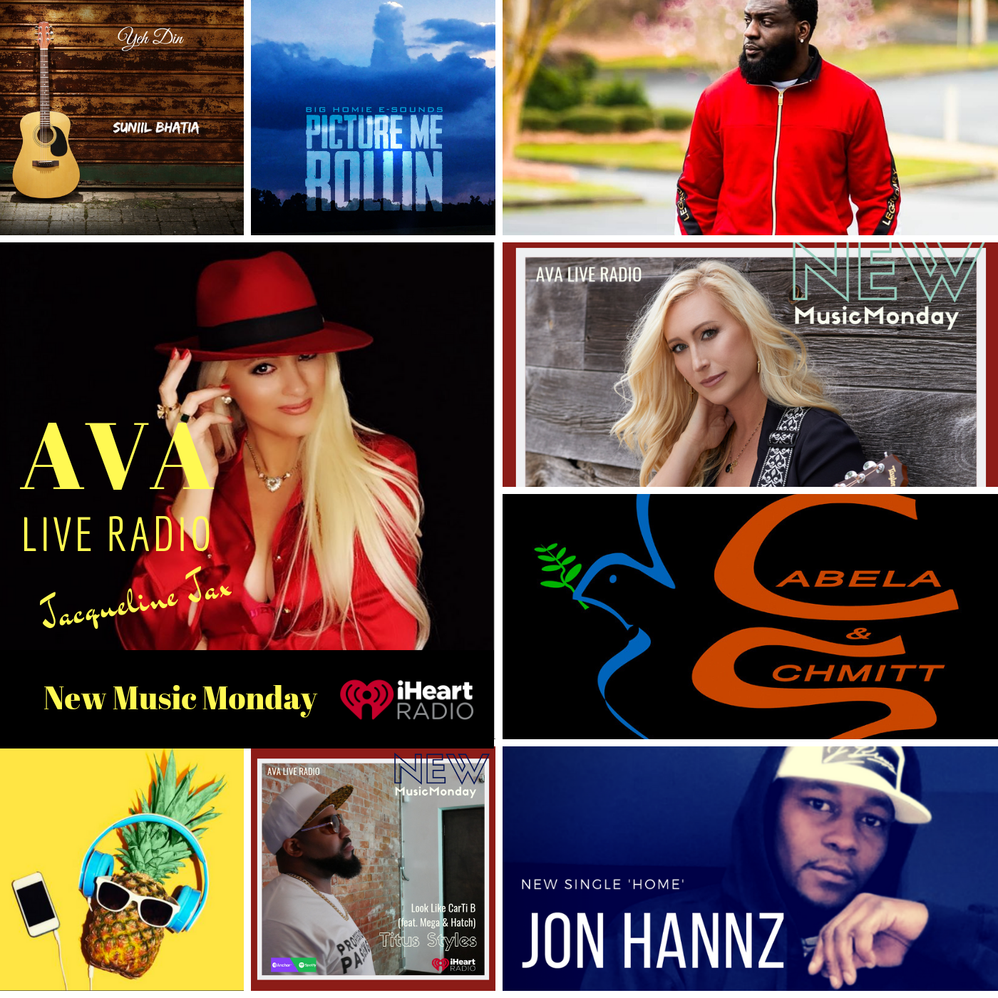 8.5 New Music Monday ava live radio.png