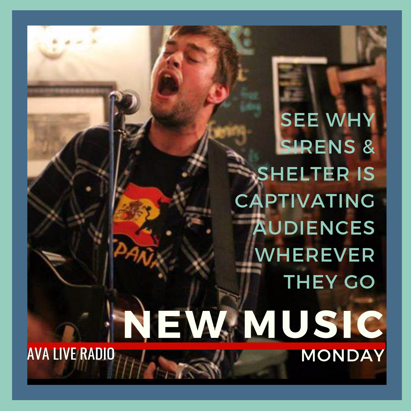 Sirens and Shelter new music alert avaliveradio.png