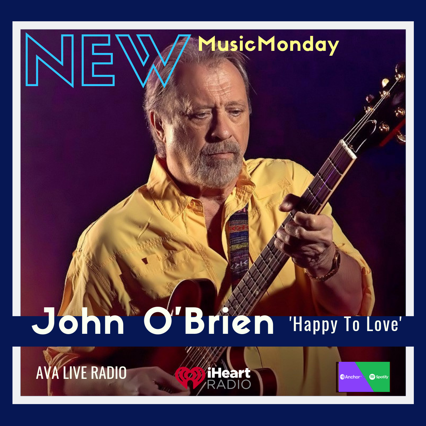 John Obrien new music monday Happy to love.png