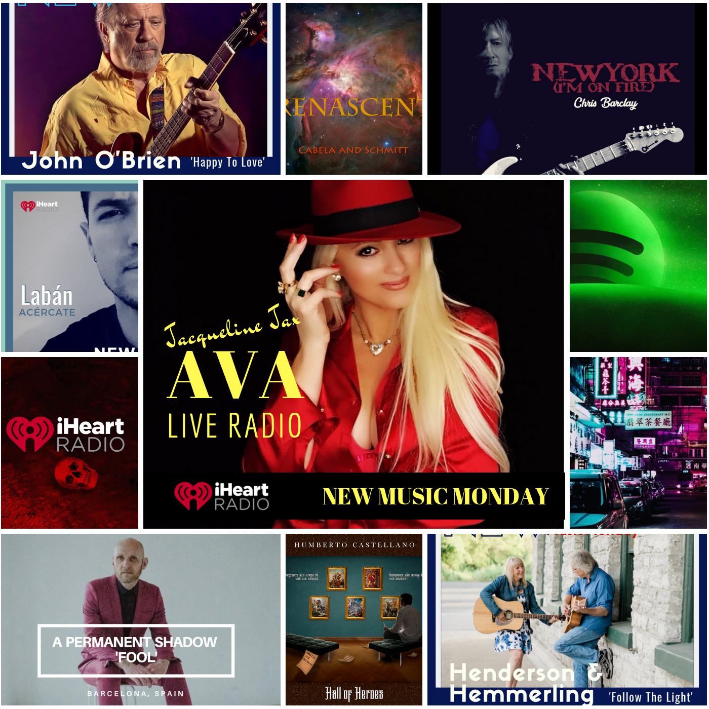 9.2 New Music Monday Mixed genre Playlist avaliveradio.png