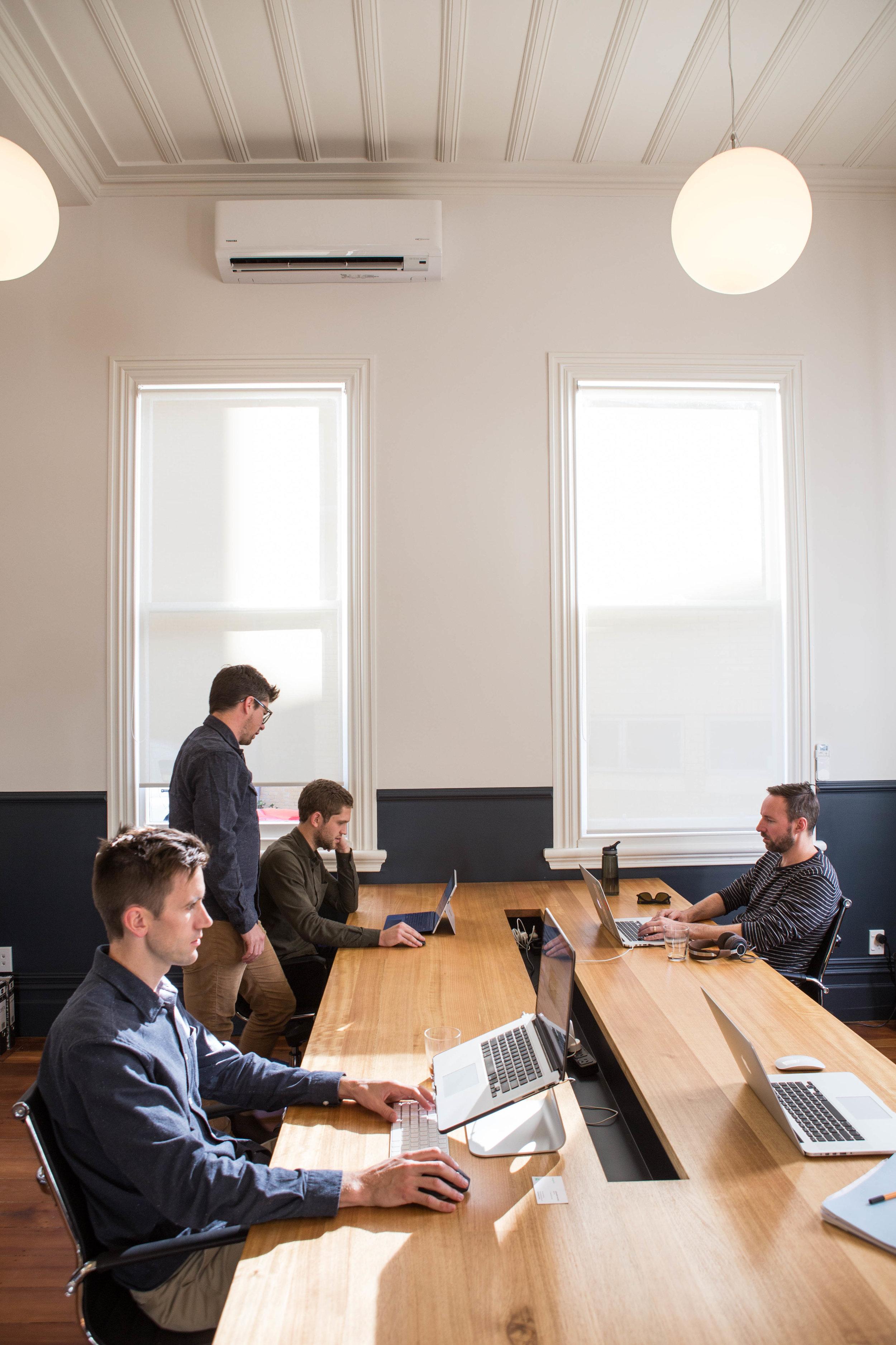 Permanent Desks
