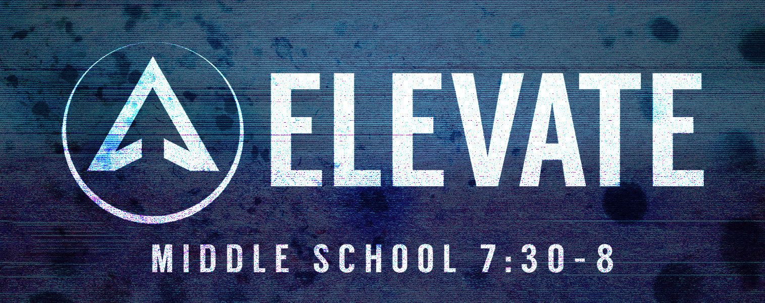Middle School Students (6th- 8th grade) are invited for a time of fun and games immediately following The Walk. Elevate is from 7:30 to 8:00 pm and is a time for Middle School students to grow in relationships with one another. We believe one of the best ways to do that is through high-energy activities and team building games. Each week we play awesome games in the Family Life Center before being walked back over to the SAM Building for parent pick-up.