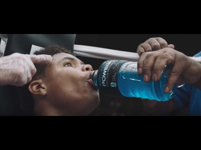 Powerade, Great Boxing Commercial
