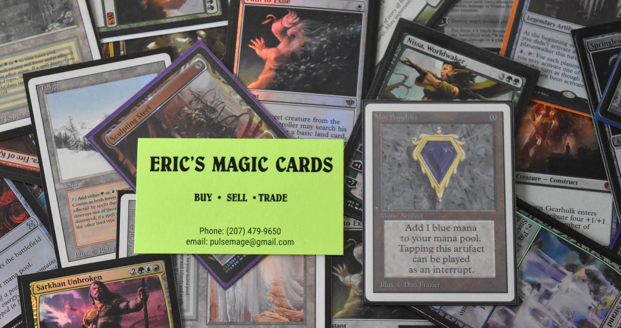 Eric's Magic Cards
