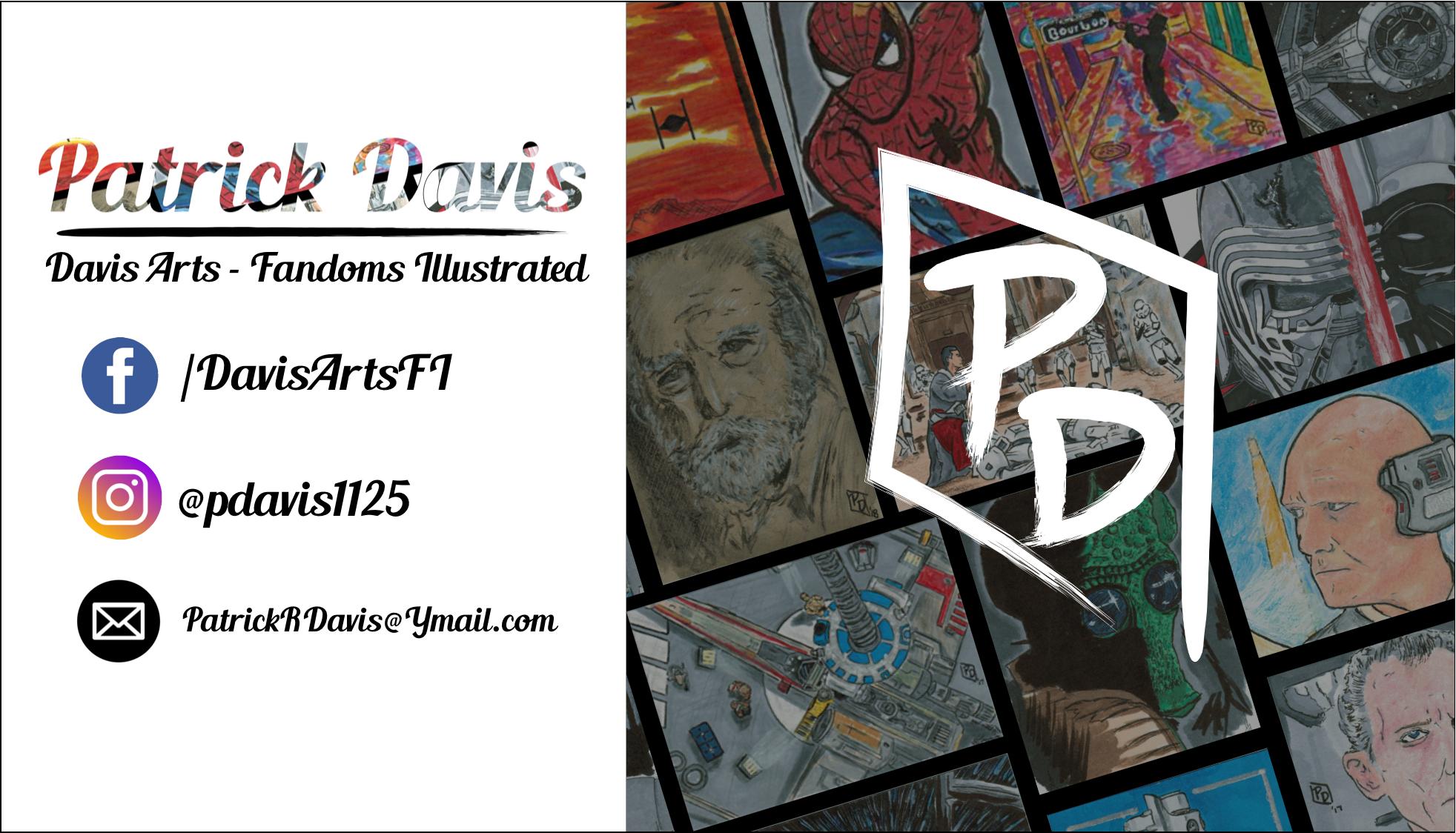 Patrick Davis Fandoms Illustrated