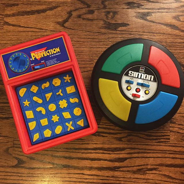 party of one is proud to endorse Milton Bradley™️ products, circa 1970. also, stay tuned for SO MUCH EXCITING NEWS from us...anyone got any advice for close miking board games? 🛫🎧🏔 ______________________________ #miltonbradley #vintage #boardgames #mewnusic #newmusic #numu #perfection #simon #nicolelizée #extendedextendedtechnique