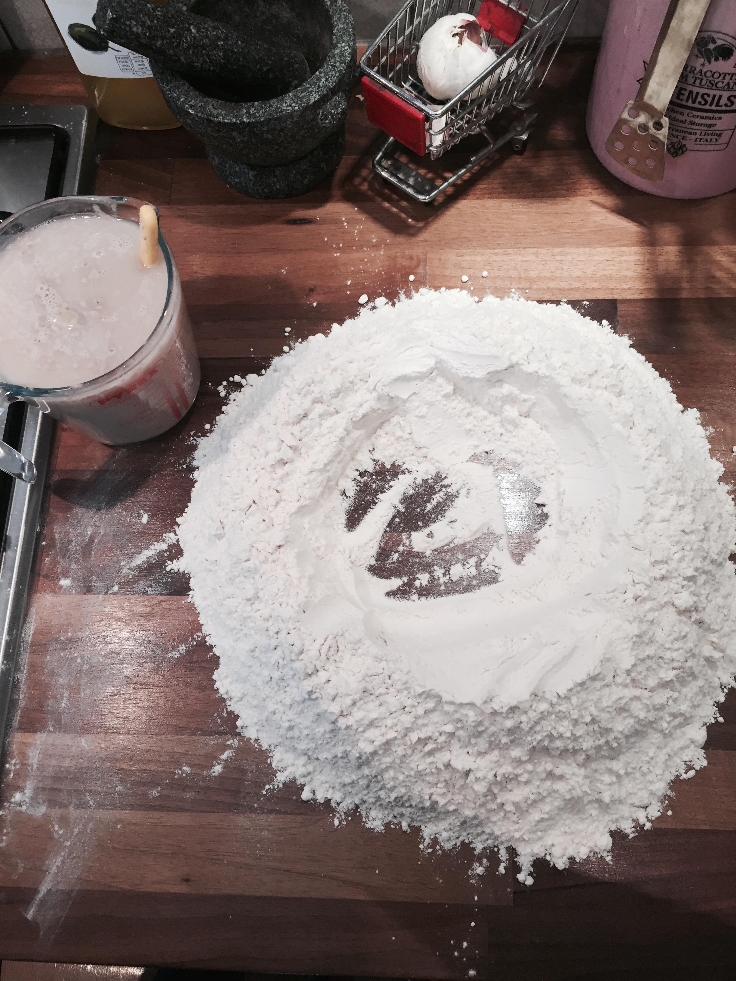 The Flour Well... More like Flour Hell!!!