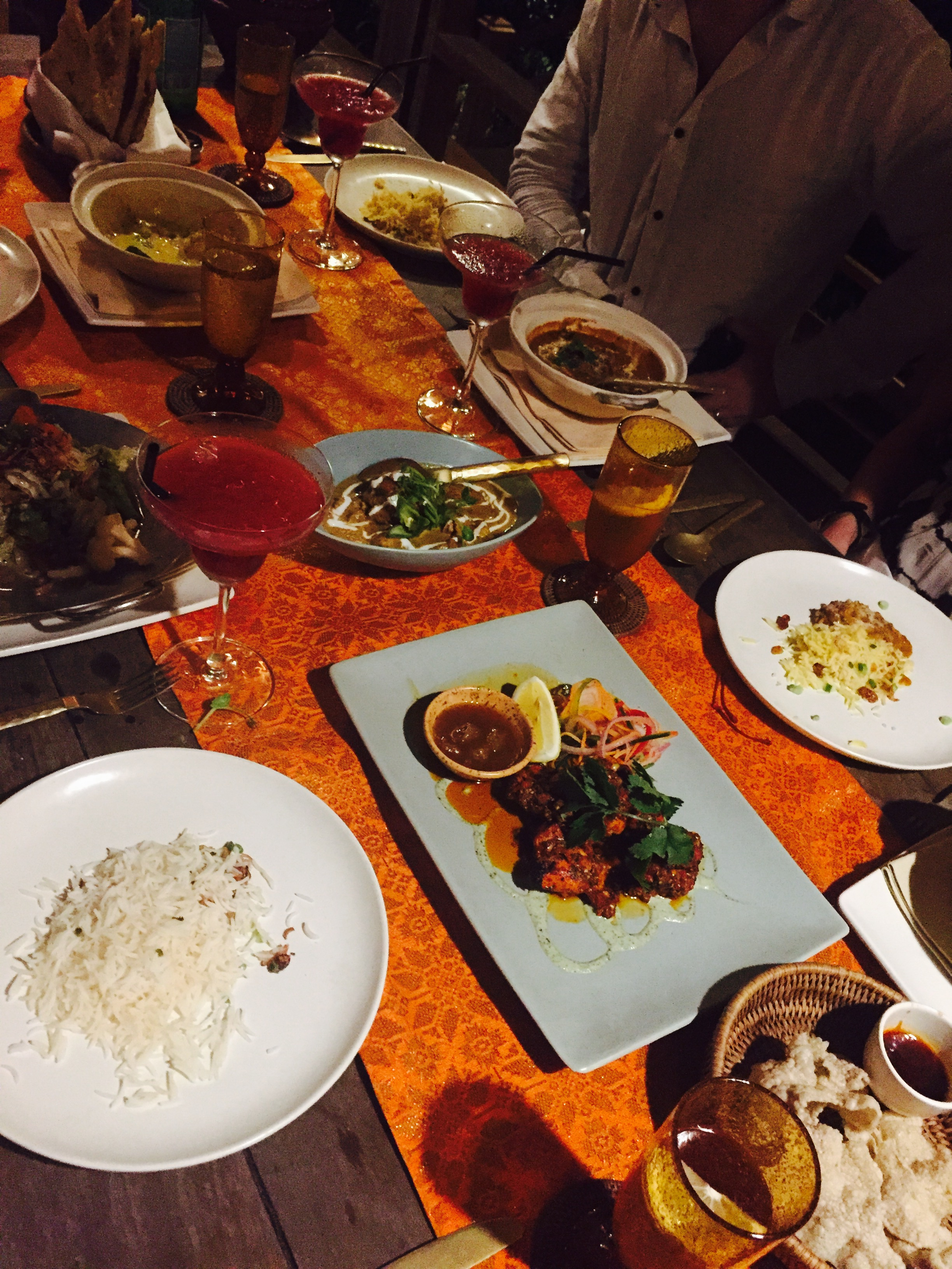 Seriously one of the most amazing meals I've ever had. The Gulai House at The Datai Resort
