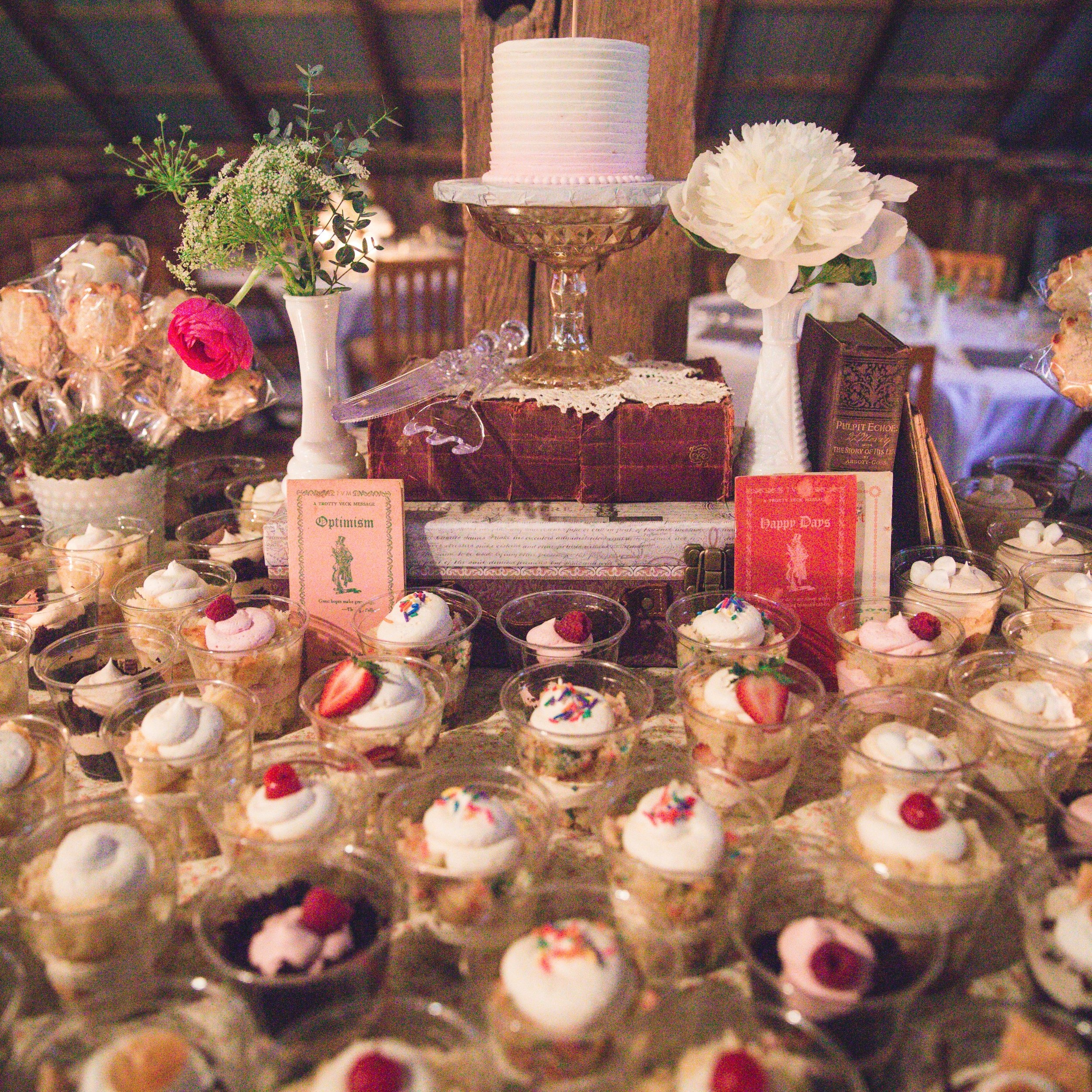 weddings - for a sweet ending to your new beginning…
