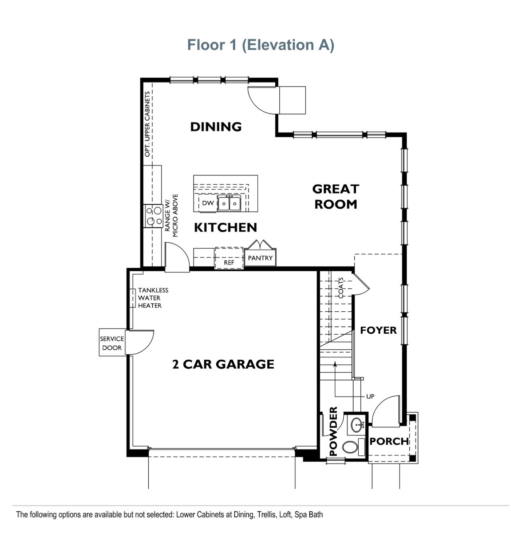 The Landing - Residence 1 - First Floor