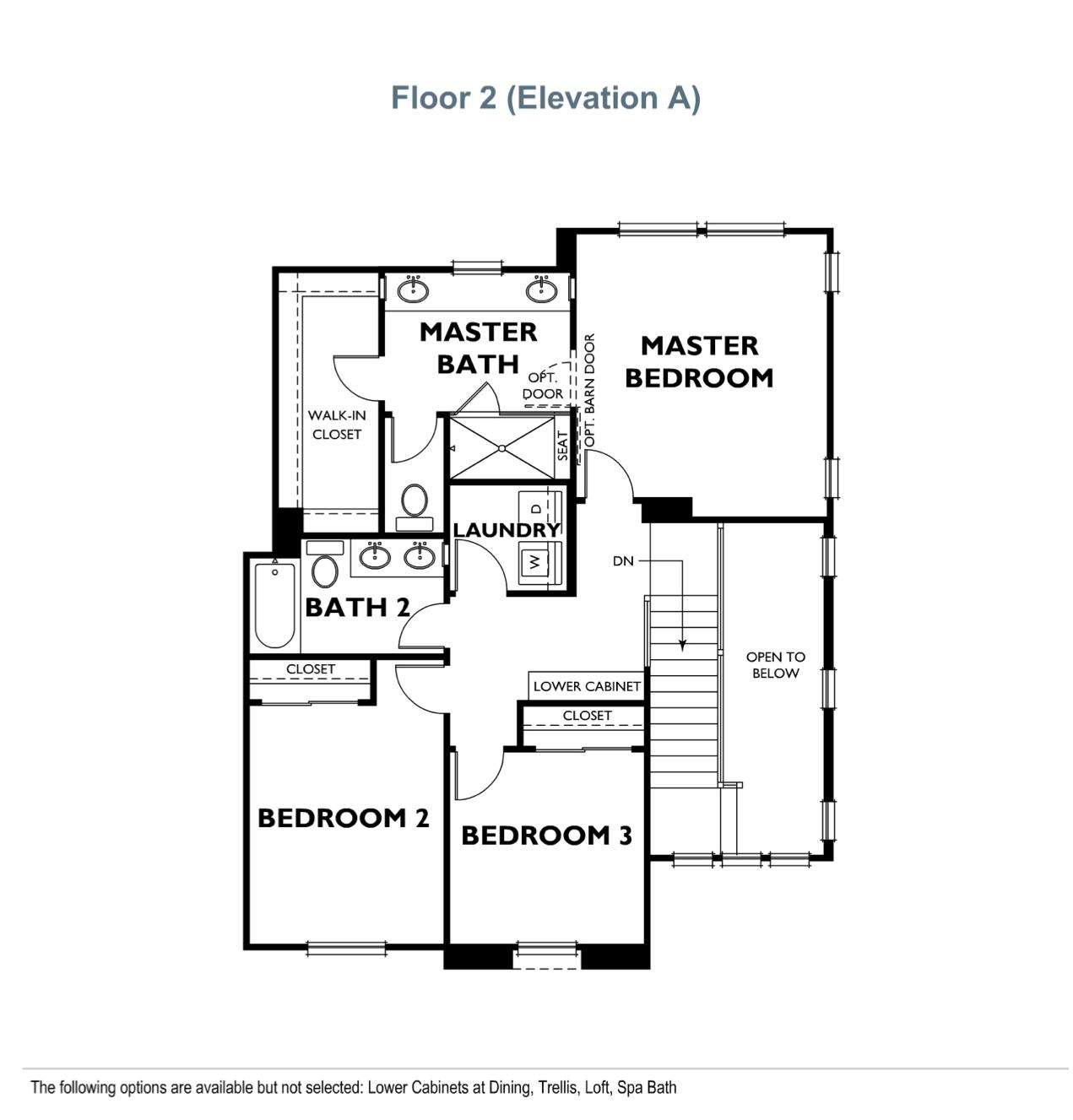 The Landing - Residence 1 - Second Floor
