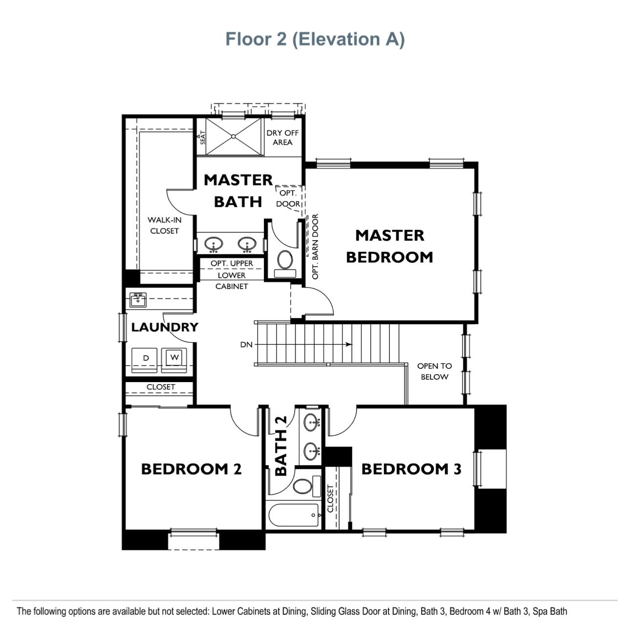 The Landing - Residence 2 - Second Floor