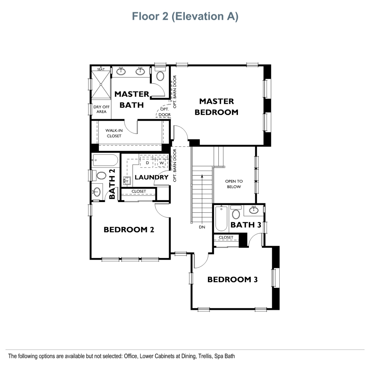 The Landing - Residence 3 - Second Floor