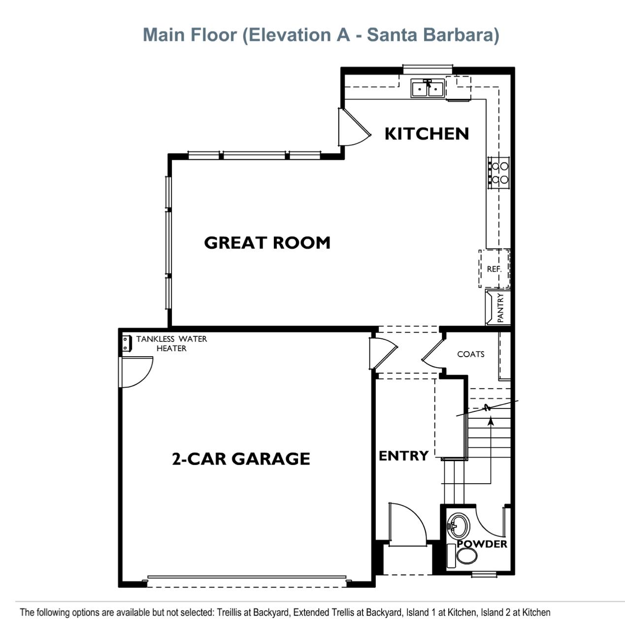 The Peake - Plan 1 - First Floor