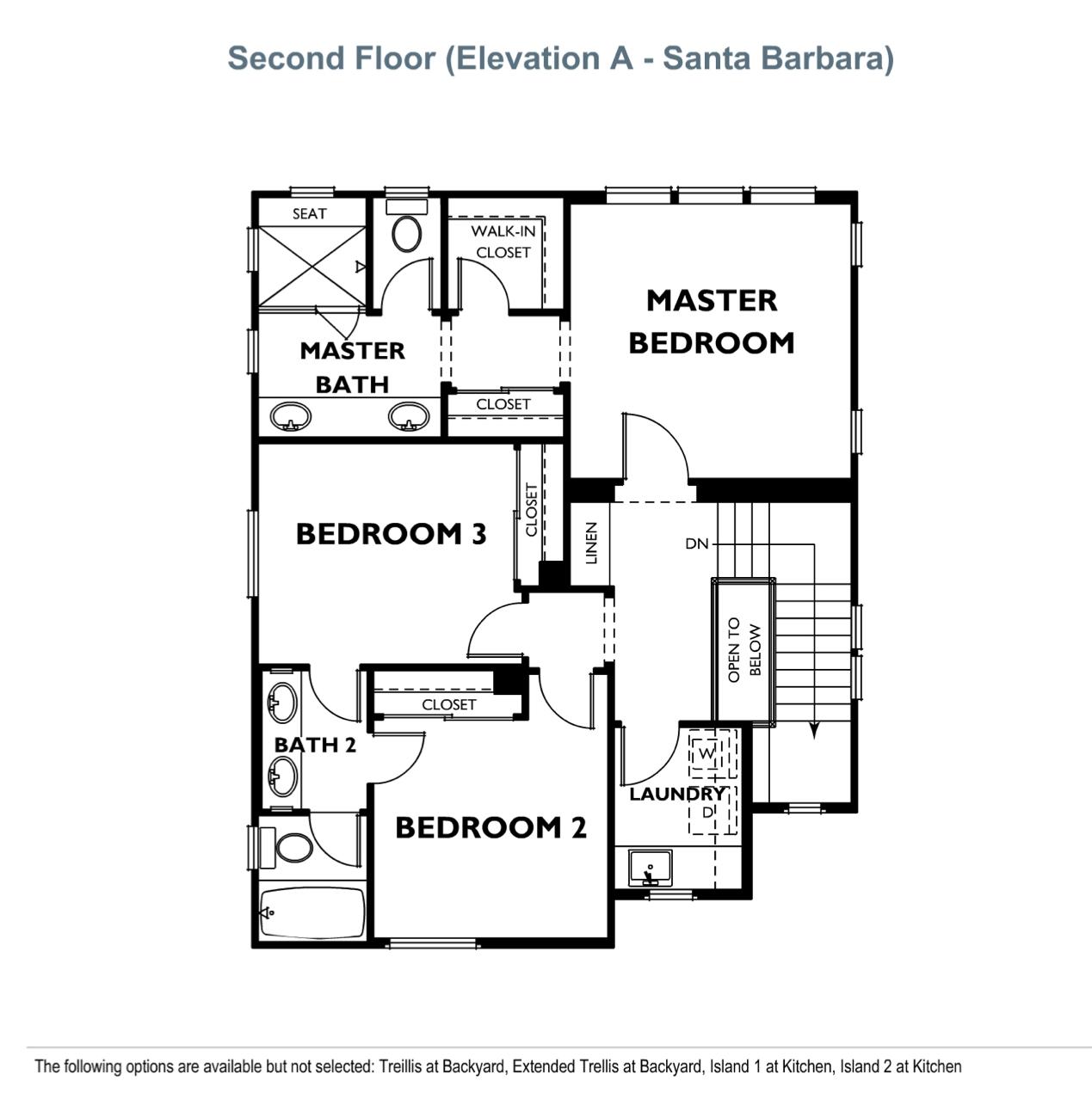 The Peake - Plan 1 - Second Floor
