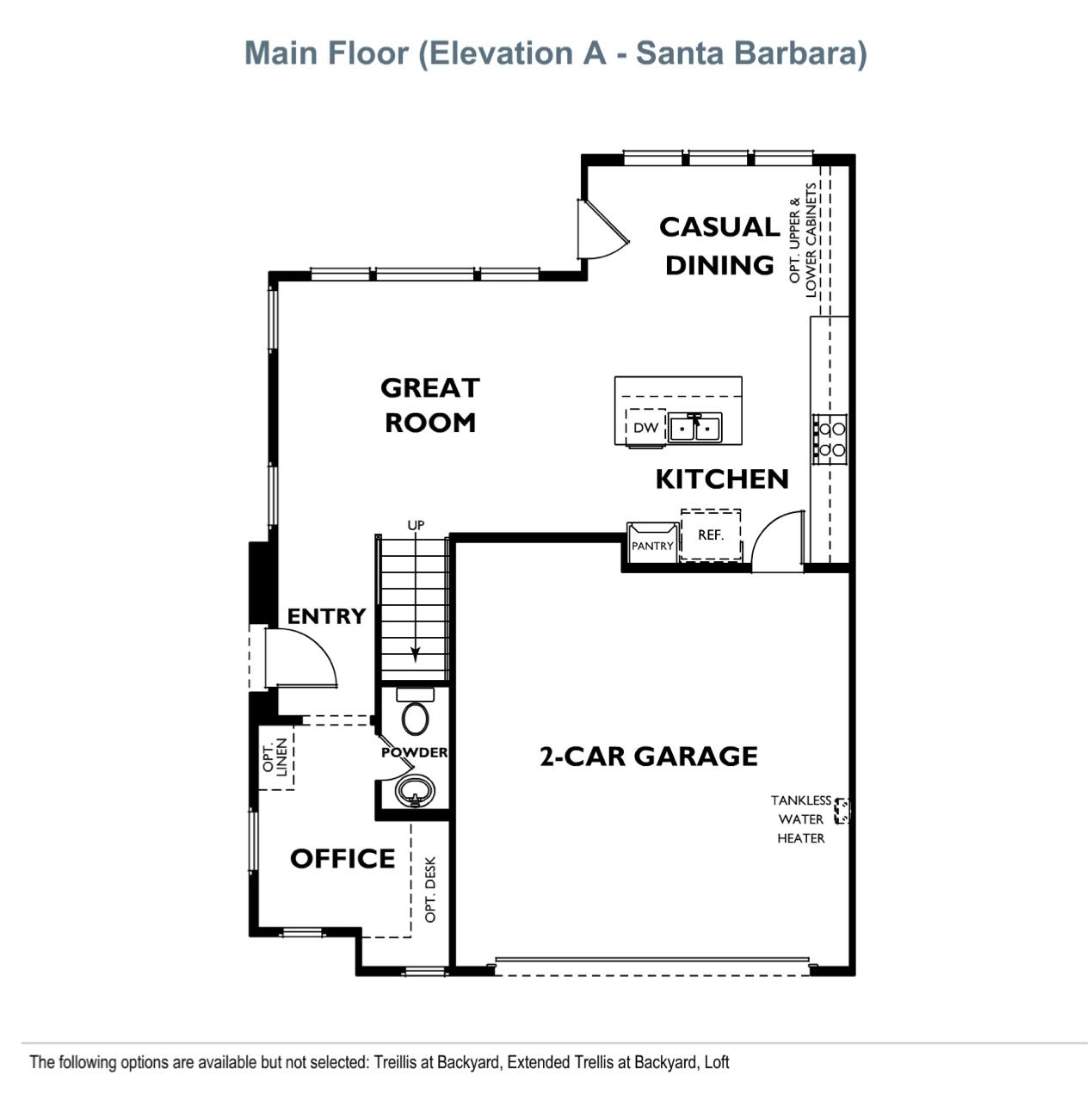 The Peake - Plan 2 - Main Floor