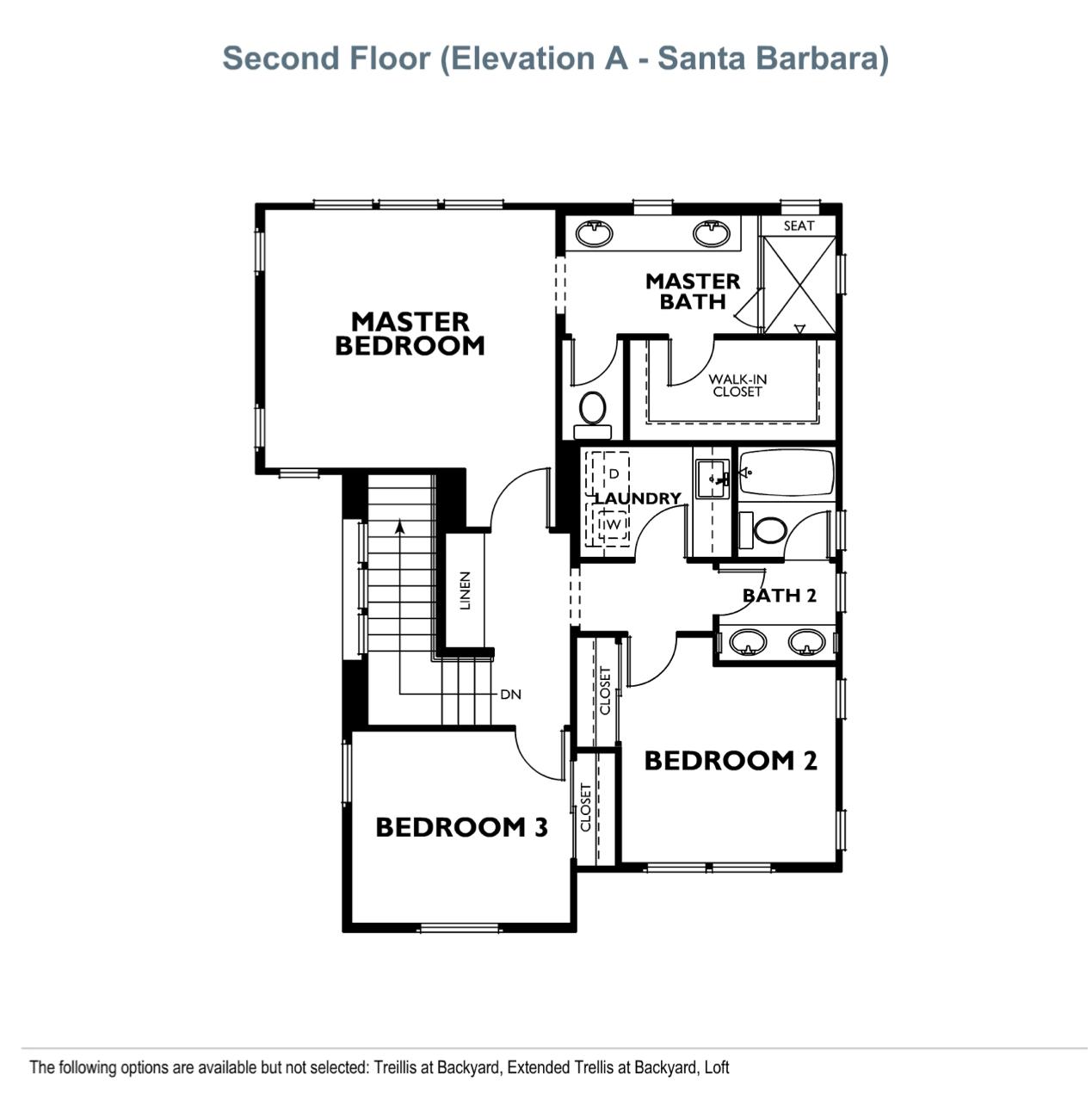 The Peake - Plan 2 - Second Floor