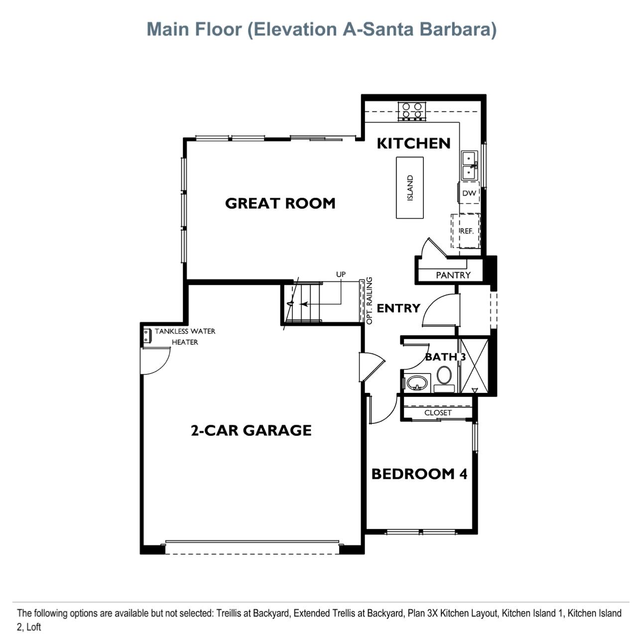 The Peake - Plan 3 - Main Floor