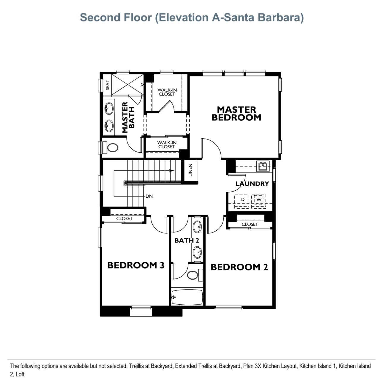 The Peake - Plan 3 - Second Floor