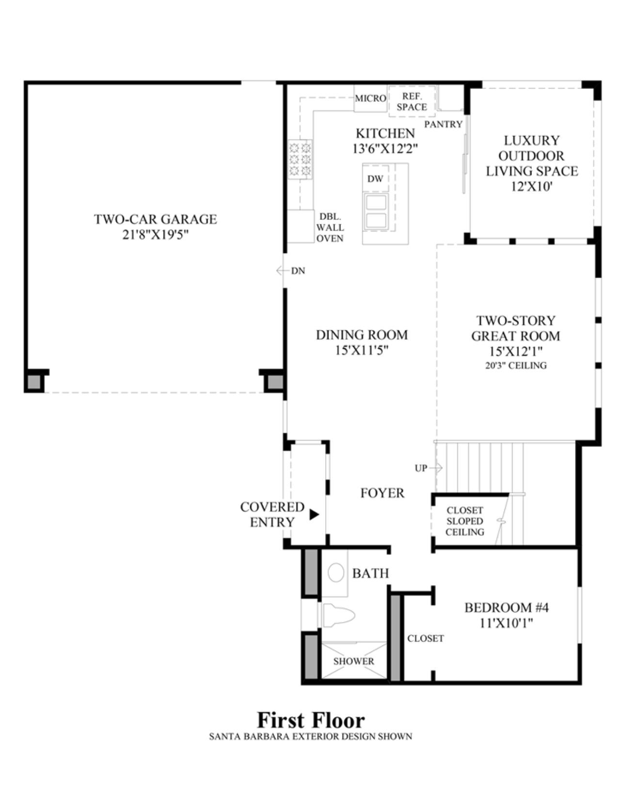 The Crossings - Seneca - Main Floor