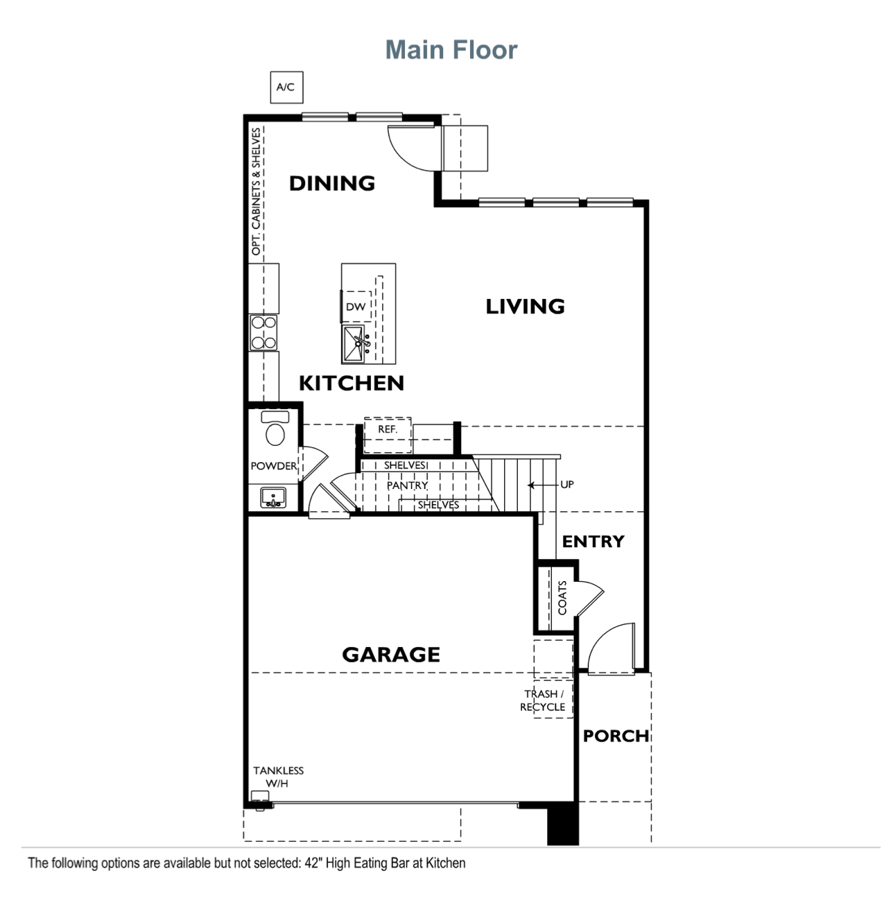 The Courts - Plan 2 - Main Floor