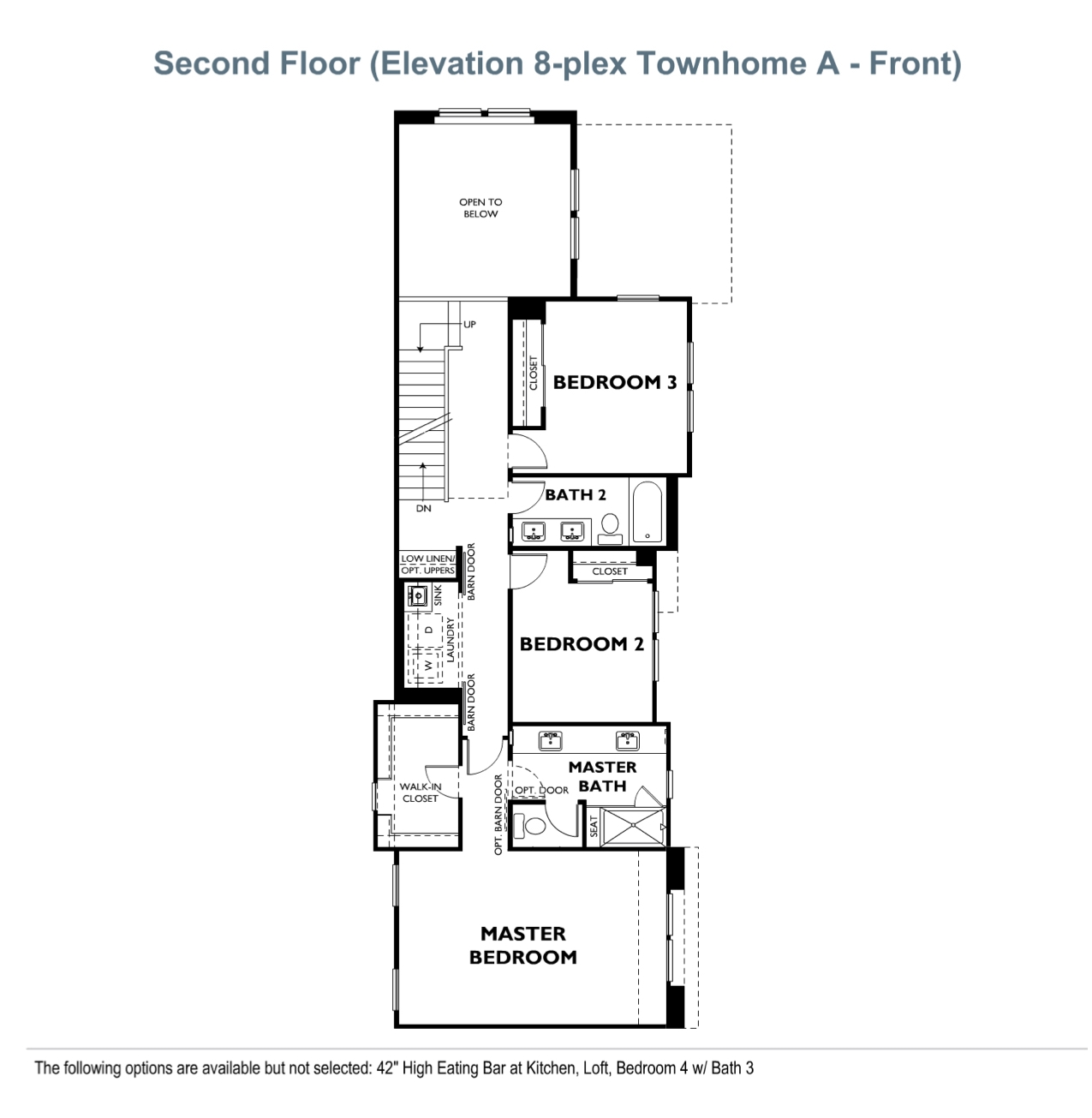 The Courts - Plan 4 - Second Floor