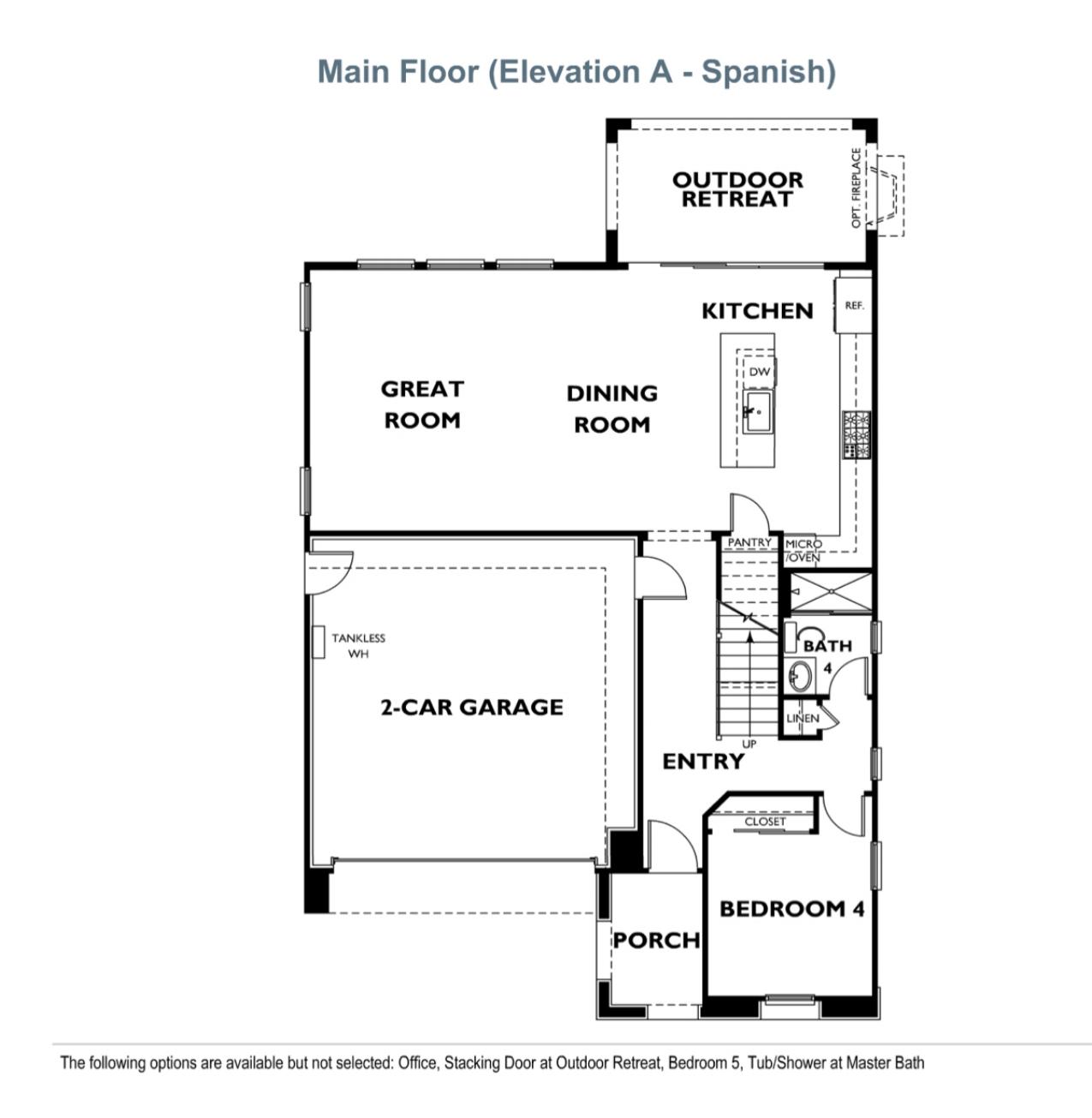 Ridgewood - Plan 3 - First Floor