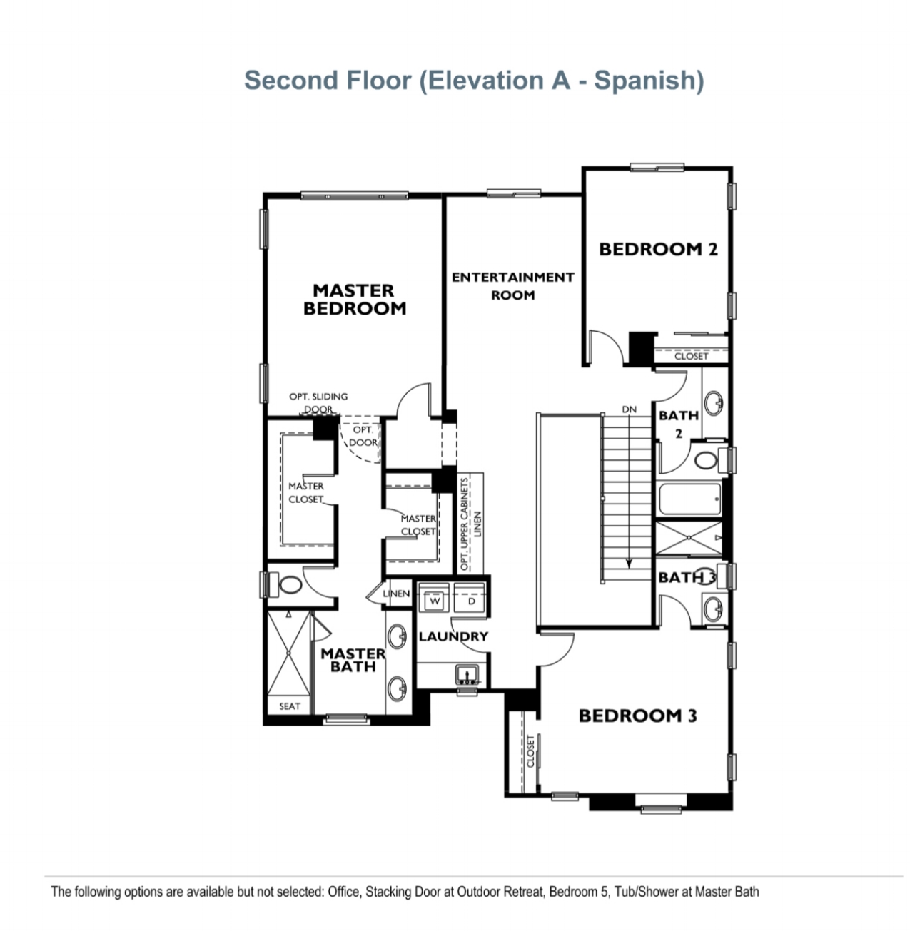 Ridgewood - Plan 3 - Second Floor