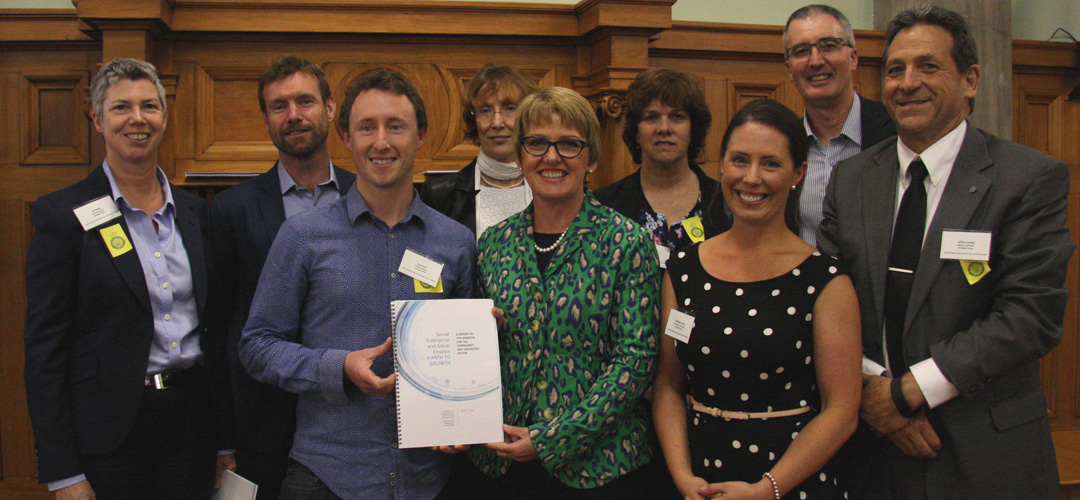 Social Enterprise and Social Finance in New Zealand: A path to Growth