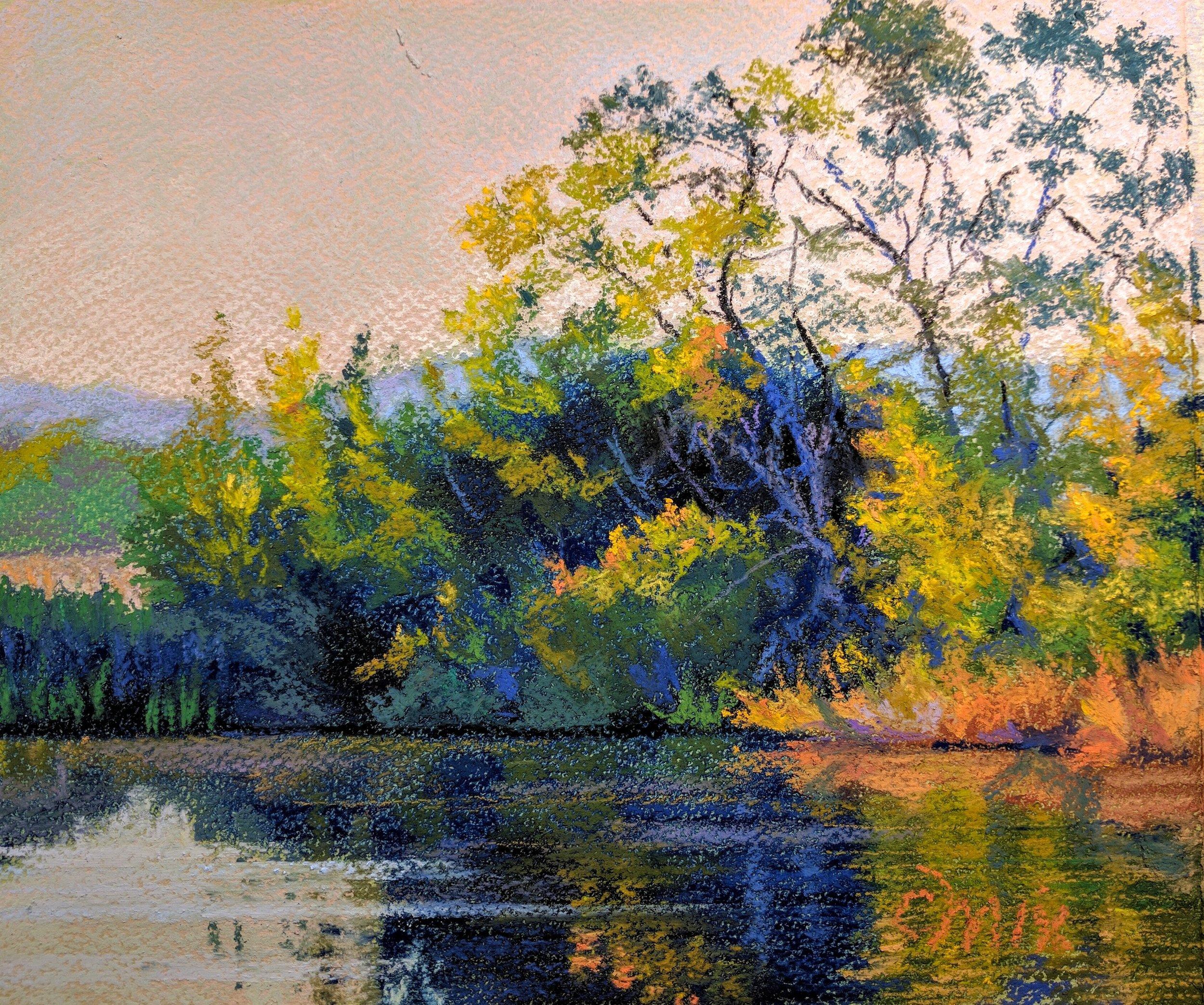 Kirner Pond at Sunset