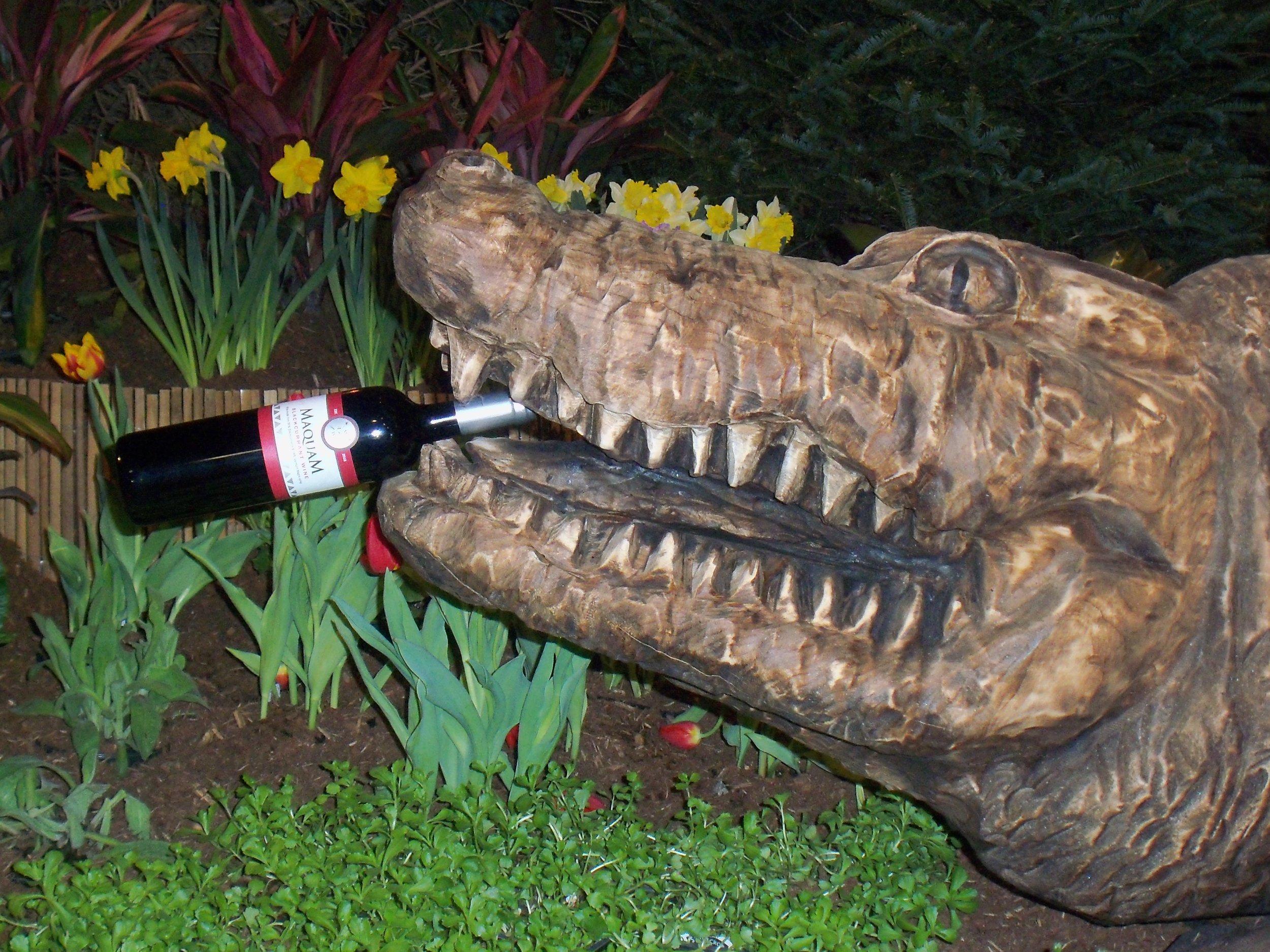 Maquam at Flower Show Alligator.JPG