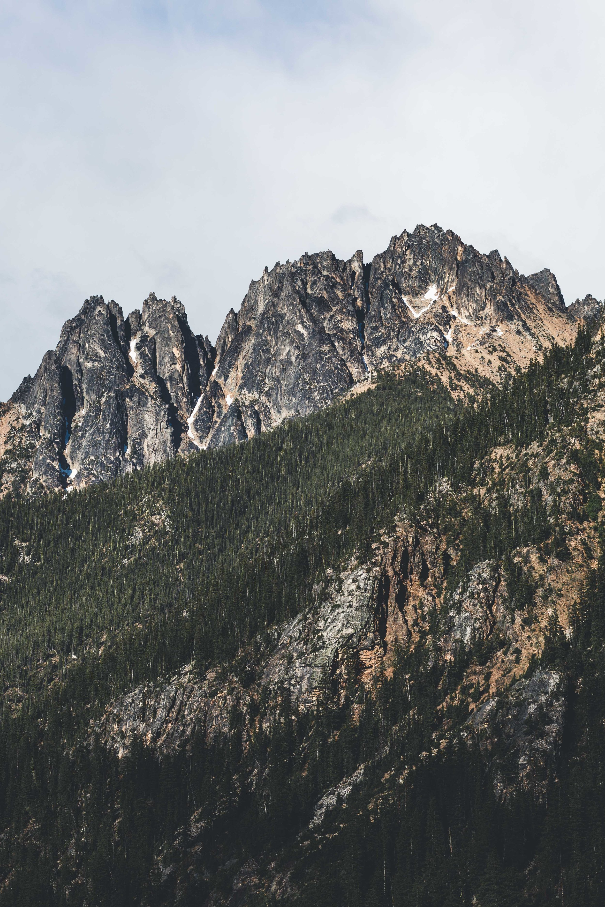 Just a casual glance out the window in the north cascades.