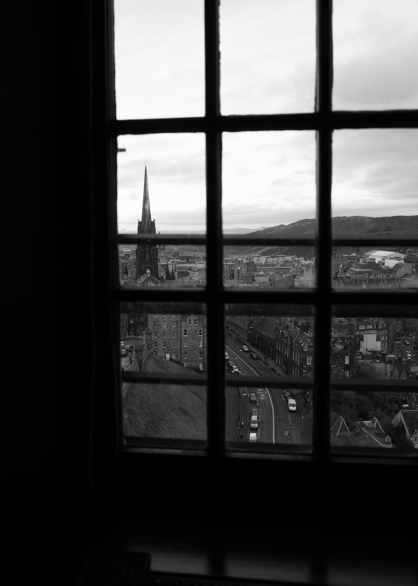 Day off in Edinburg.