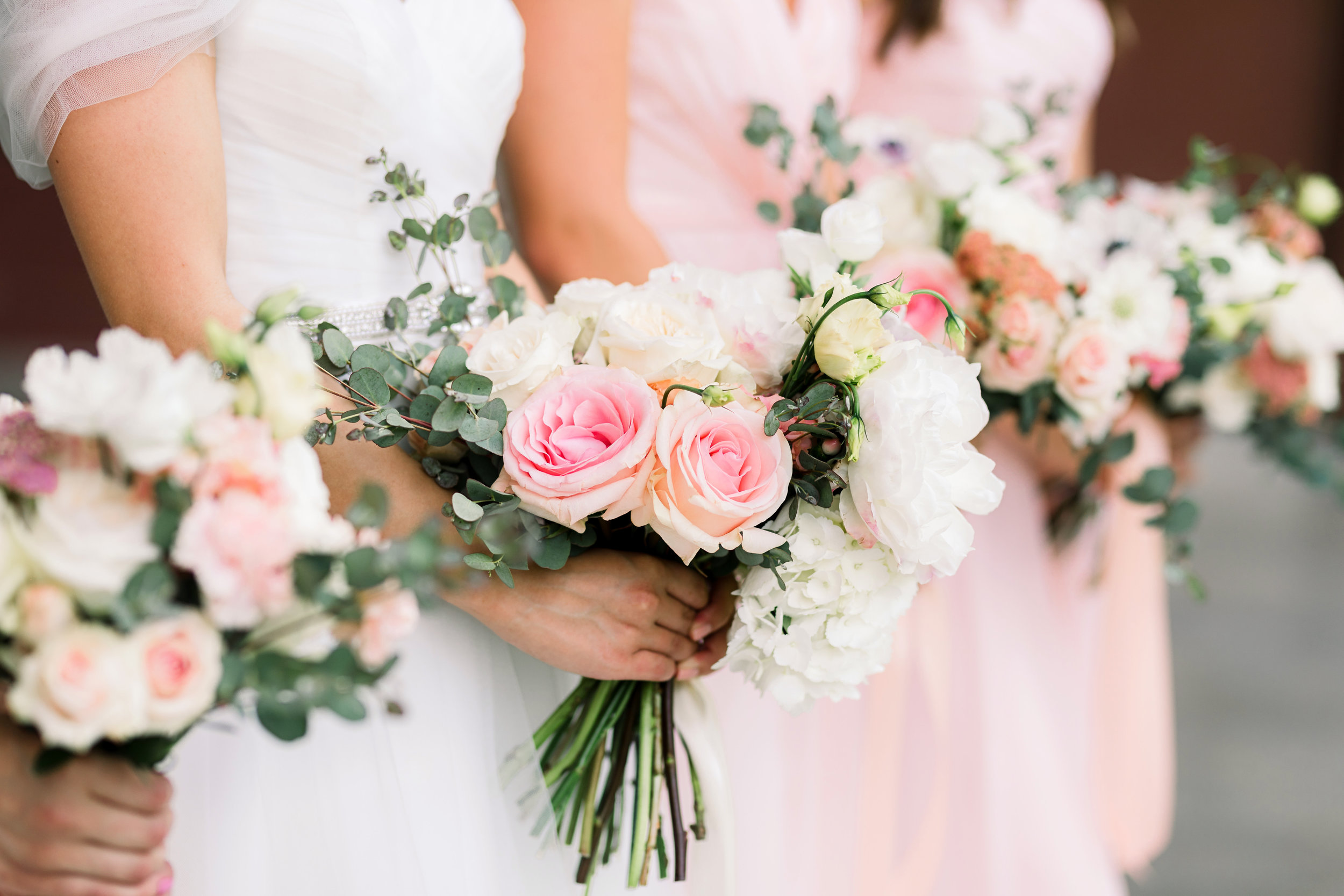 We might be a little bias, but we think flowers make a wedding...
