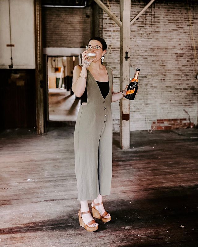 poppin' bottles because today I BOUGHT A CHURCH— just your average tuesday. cheers to new endeavors 🍾 @sprucestreetstays