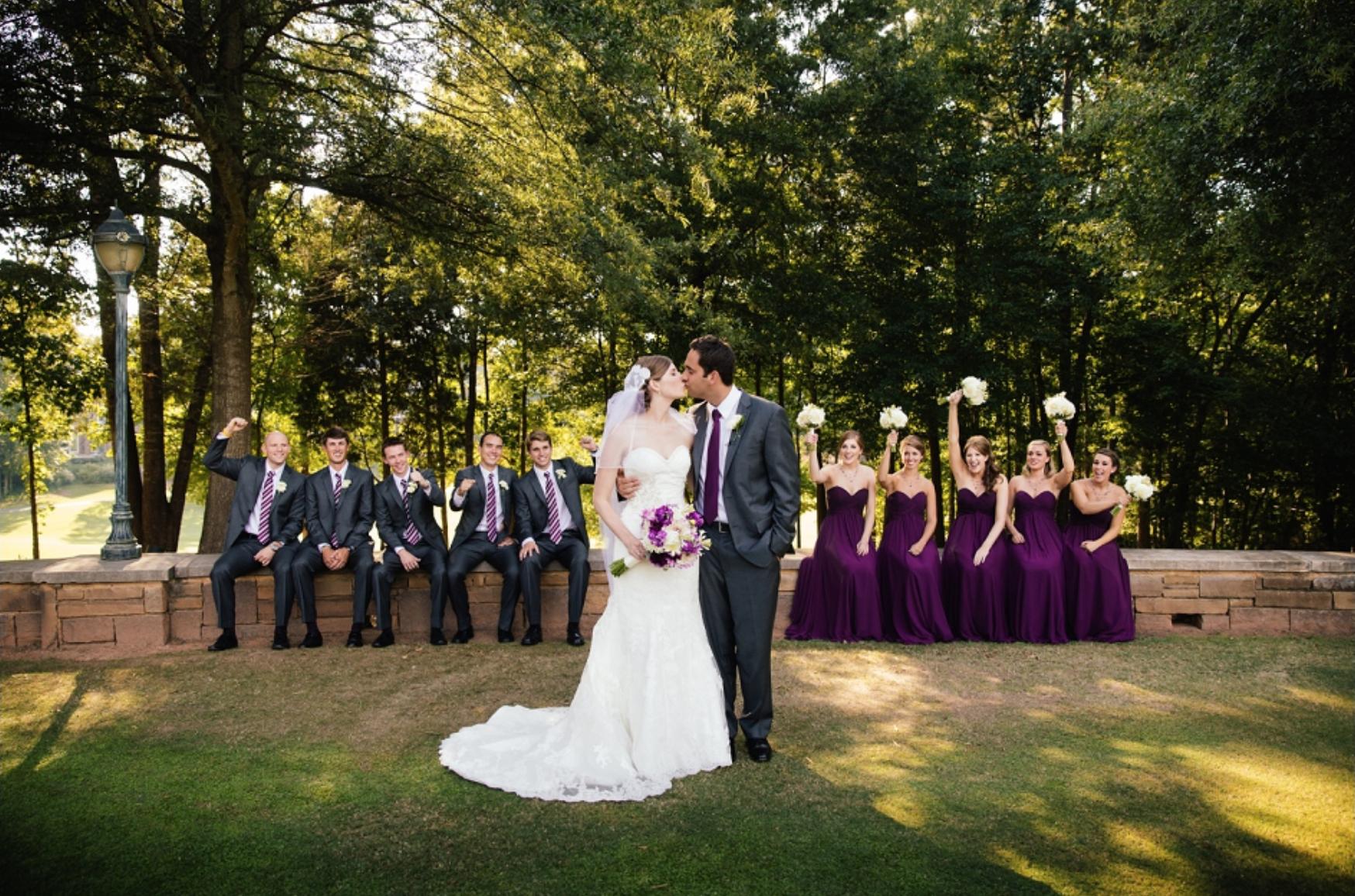 Ballantyne Country Club BLOG POSTREAL WEDDING by Elly @ Ballantyne Country Club -