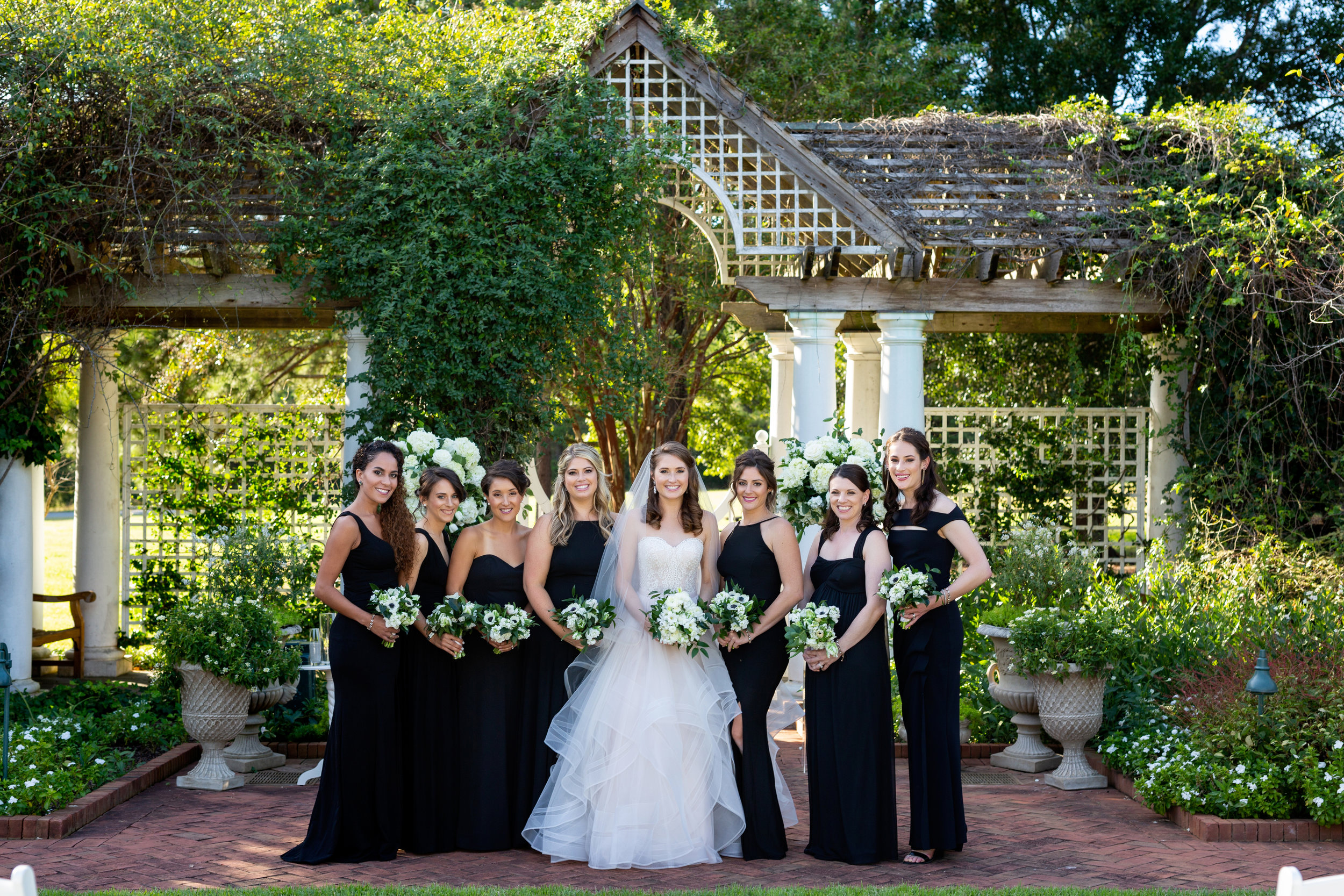 Daniel Stowe Botanical Gardens Wedding