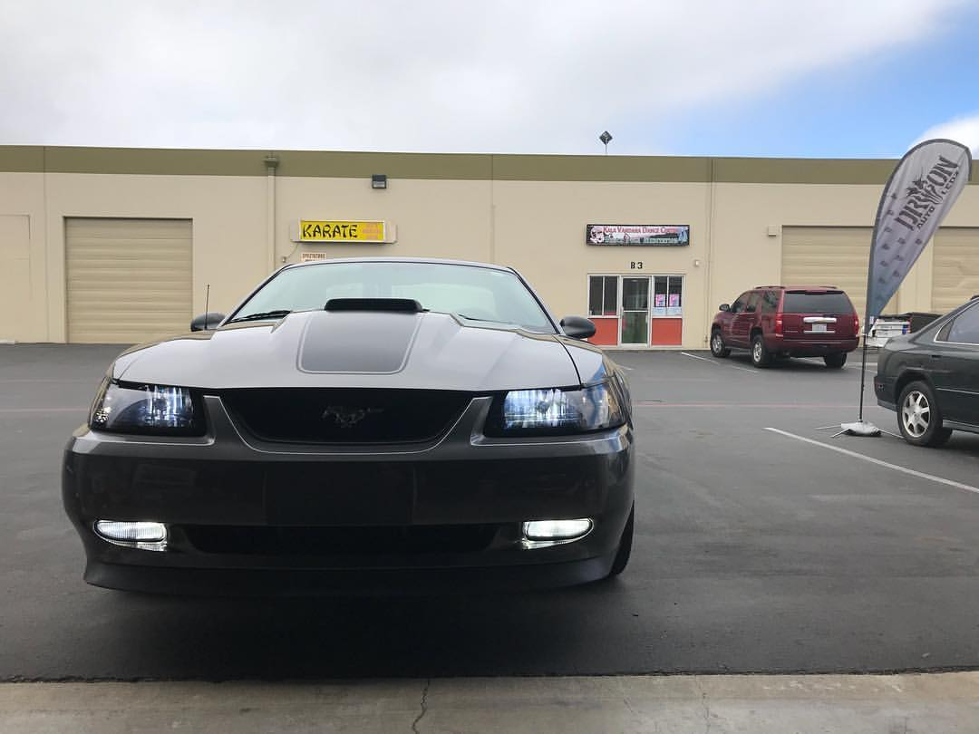 Ford Mustang - NeoPhyte Series - (Tinted Headlights) + Fog Lights