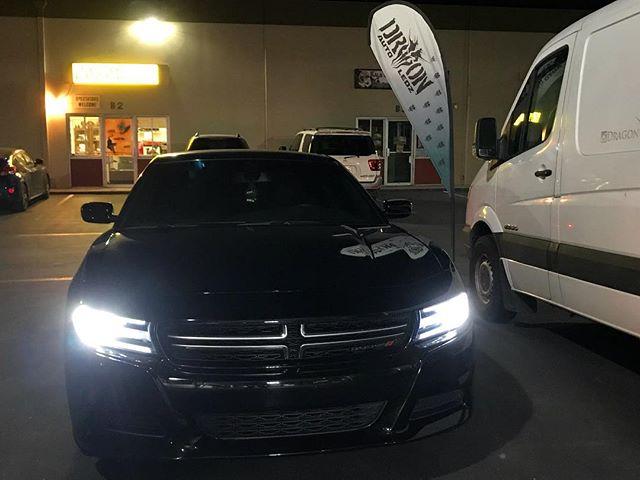 Dodge Charger - Fuego 2 - Headlights