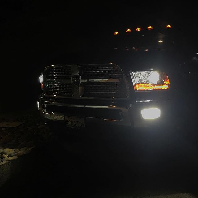 Dodge Ram - Pro Series+ On Fog Lamps